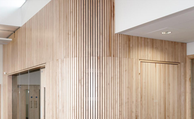 Slatted Timber Suspended Ceilings Slatted Timber Wall Panels