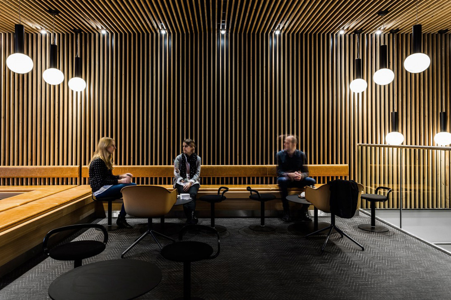 Timber Acoustic Panels And Suspended Timber Ceilings